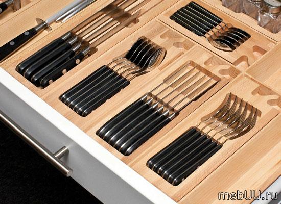 Емкости для столовых приборов из дерева