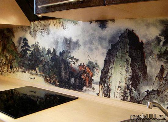 Стеновая панель на кухню фартук