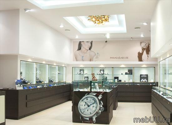 Торговое оборудование ювелирных и цветочных магазинов